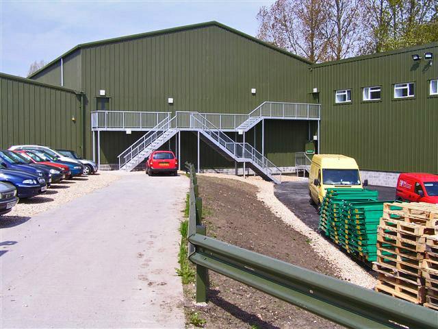 Coombe Farm - Steel Fabrications Martock Ltd