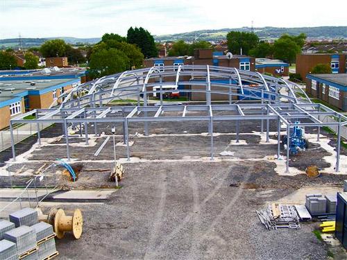 Rok Worle School 1 - Steel Fabrications Martock Ltd