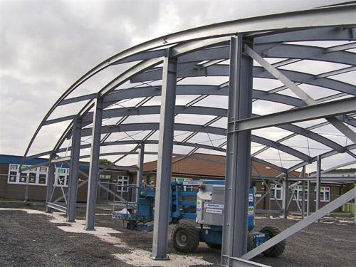 Rok Worle School 2 - Steel Fabrications Martock Ltd