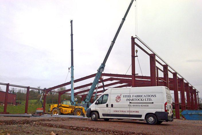 Axminster 2 Gallery - Steel Fabrications Martock Ltd
